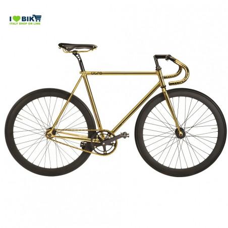 CIGNO FIXED ORO SELLA bici fixed luxury shop