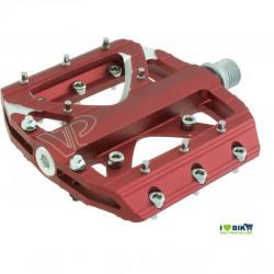 Coppia pedali da freeride/bmx Rosso