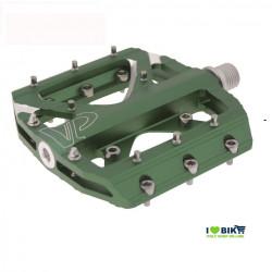 Coppia pedali da freeride/bmx Verde