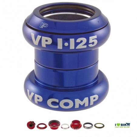 "Serie sterzo a-head set 1"" - 1/8"" Blu"