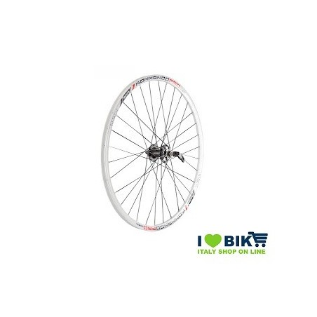 Couple MTB wheels 27.50 KOMMANDO white