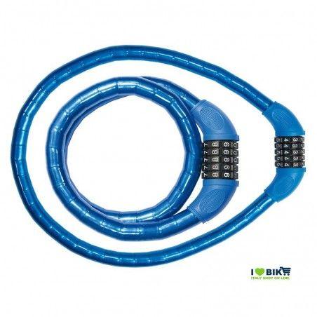 LU54B Lucchetto Combinazione 90 cm x 18 mm blu online shop
