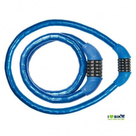 Combination Padlock 90 cm x 18 mm blue