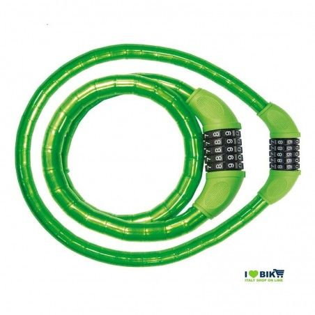 Combination Padlock 90 cm x 18 mm green