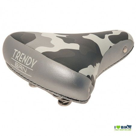 Trendy camouflage saddle gray