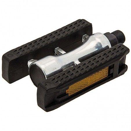 Sports pedals in aluminum black