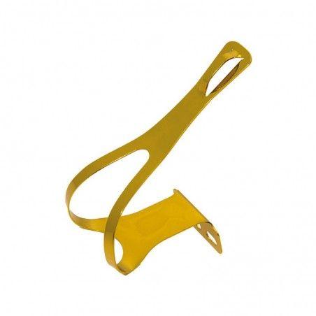 PU10G puntapiedi in alluminio giallo