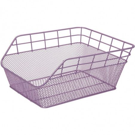 Rear Basket in retina lilac Trendy