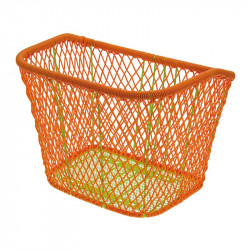 Trendy basket orange