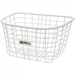 Front basket white iron Iceland