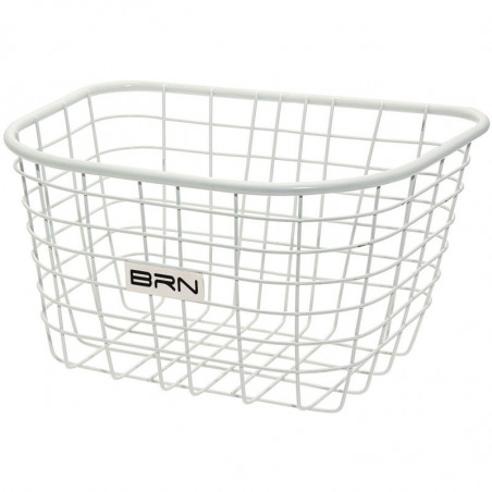 Front basket white iron Iceland