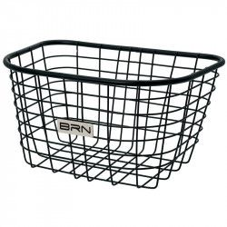 Front basket black iron Iceland