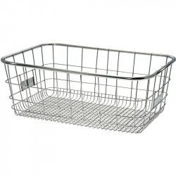 Basket, front / rear Metal Steel