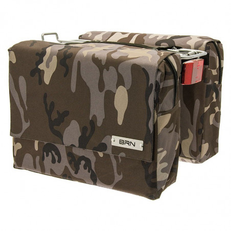 Bags camouflage bike brown