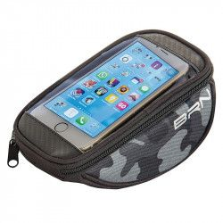 Handbag bike FIXED smartphone camuflage gray