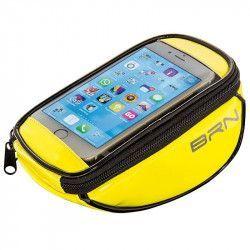 BO86G Borsetta BRN FIXED portaoggetti e porta smartphone giallo