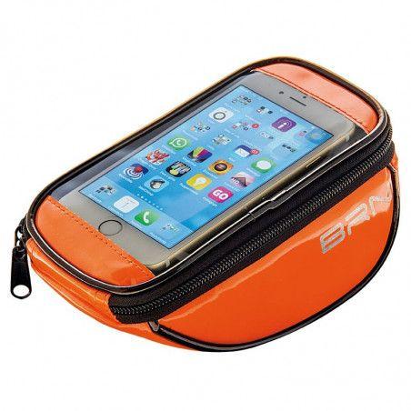 Handbag bike FIXED smartphone glossy orange