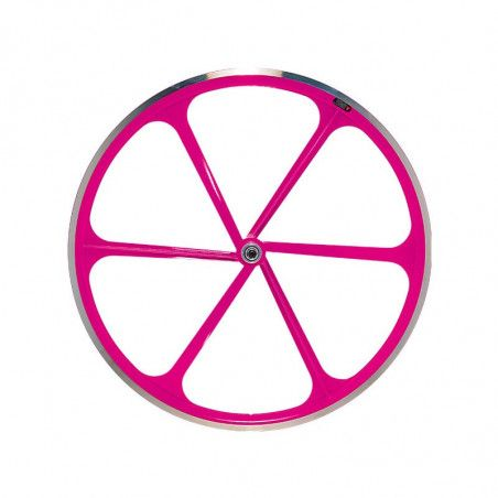 R10ANP Ruota bici fixed online shop fluo fuxia rosa