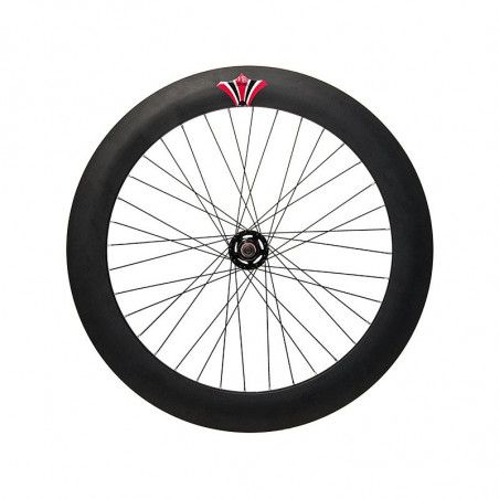 Couple Fixed black wheels (circle 70 mm, pinion included)