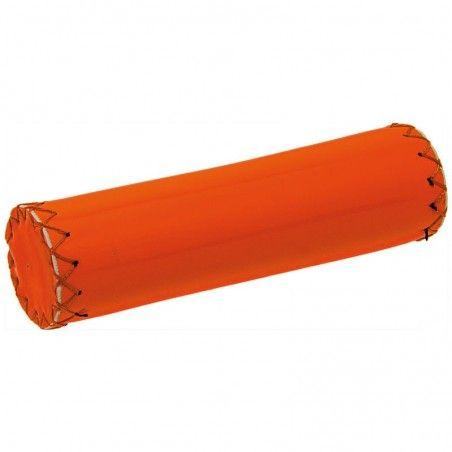 Pair of Fixed Fluo orange knobs