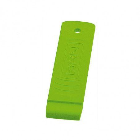 Levagomma plastic BRN green fluo