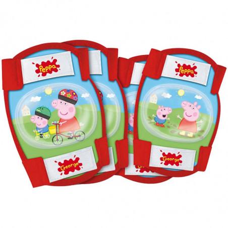 PP15 Kit protezione gomitiere e ginocchiere Peppa Pig online shop