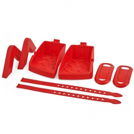 Color Kit for Guppy rear red