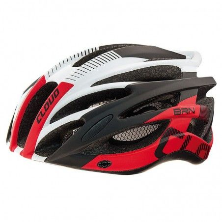 CAS11RL Casco BRN CLOUD nero-rosso taglia L online shop