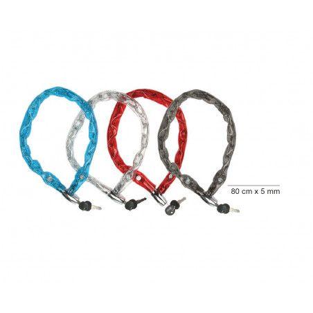 LU47 vendita lucchetti a catena e luccheto per biciclette negozio accessori bici e bike on line