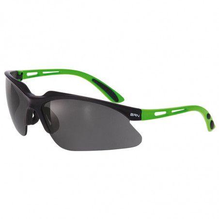 Eyewear BRN Weave green Fluo matt - 3 interchangeable lenses