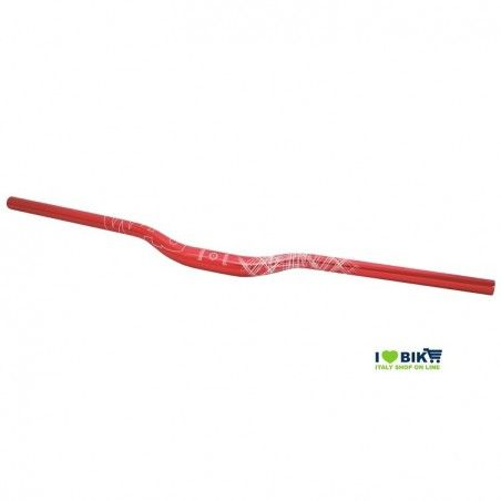 Aluminum handlebar Wag Over size 31, 8mm red anodized