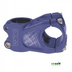 Stem Wag aluminum A-head blue anodized
