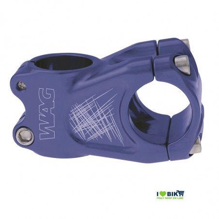 Stem Wag aluminum A-head blue anodized