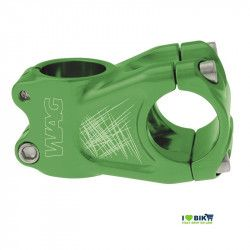 Stem Wag aluminum A-head green anodized