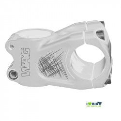 Stem Wag aluminum A-head white anodized