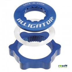 Adapter discs Centerlock Blue Alligator