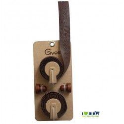 Handlebar tape Leather Gyes brown