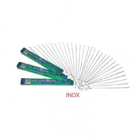 INOX ruota raggi per bicicletta vendita on line accessori ricambi bici pezzo singolo
