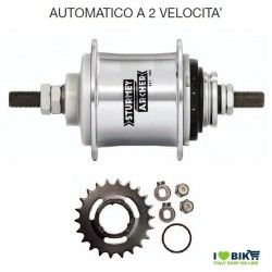Automatic 2-speed Sturmey Archer hub