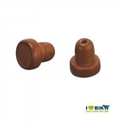 Plugs for handlebar tape Gyes brown