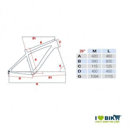 Wing RS29 Bicicletta Adriatica Bici unisex online shop