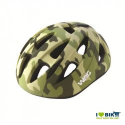 Bike helmet kid sky military green Size XS sale online