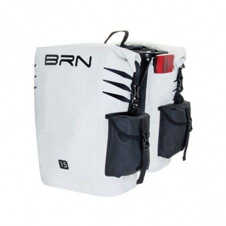 Borse bicicletta cicloturismo BRN Amazzonia Bianche/nere vendita online