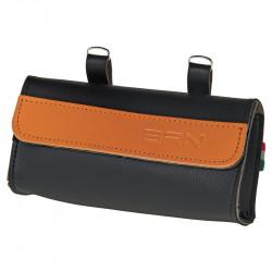 Panniers BRN underseat imitation leather Black / honey shop online