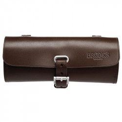 Small bicycle saddle bag Brooks Challenge brown online shop