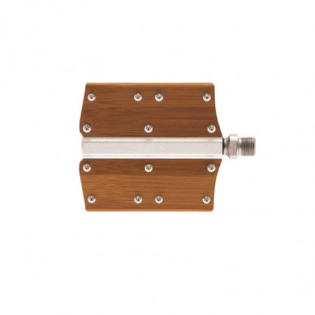 Vintage bike pedals aluminum and Bamboo online shop