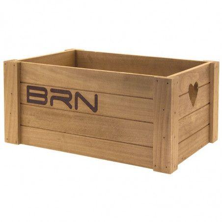 Basket bike vintage natural wooden lovely big online shop