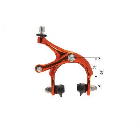 Freni bici Fixed/Corsa anodizzati arancio vendita online
