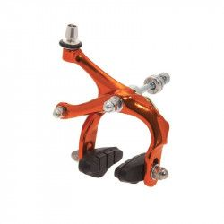 Brakes bike Fixed / Racing anodized orange sale online