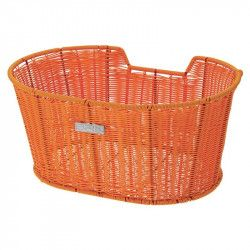 Basket bicycle front BRN Liberty orange sale online